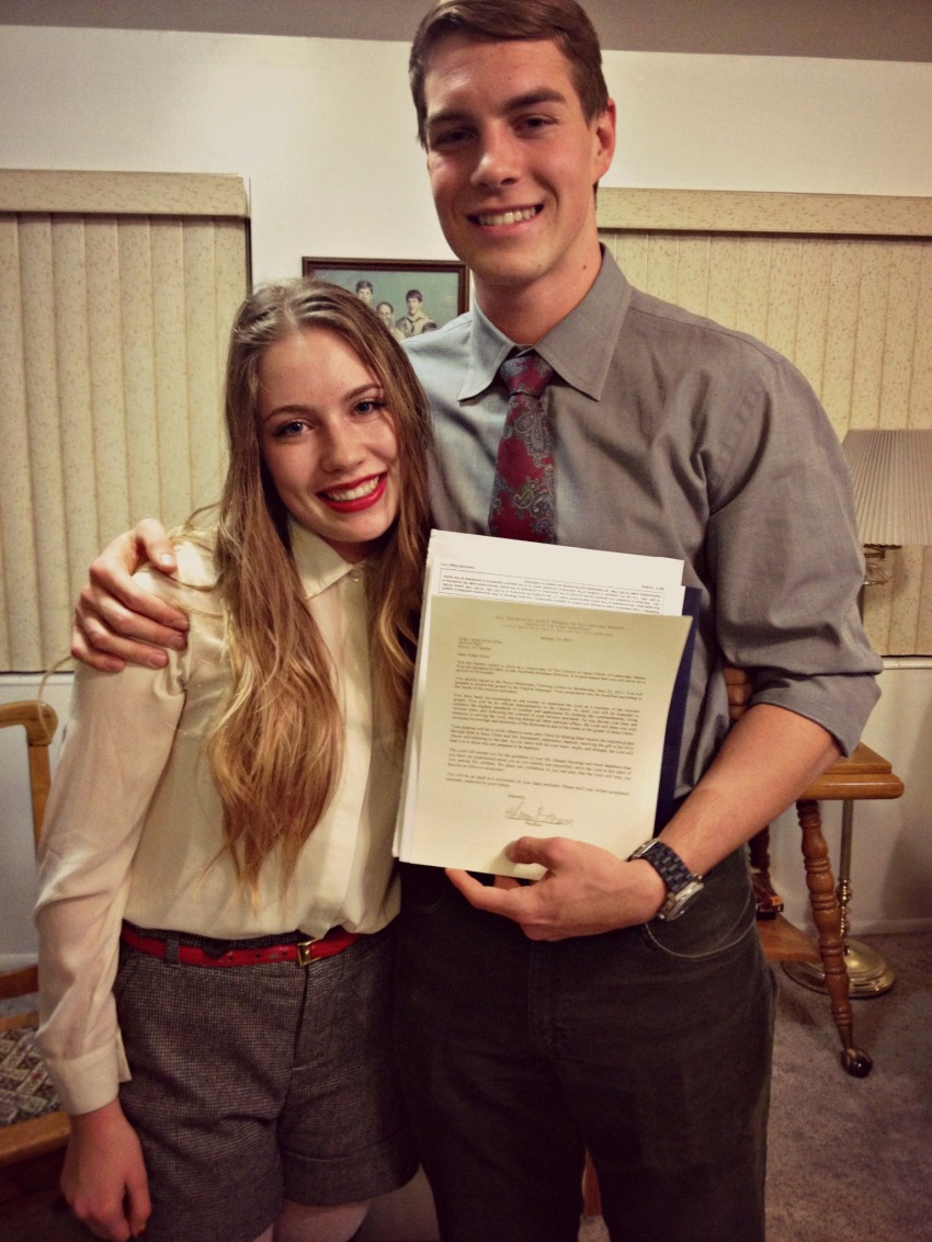 mission call openings
