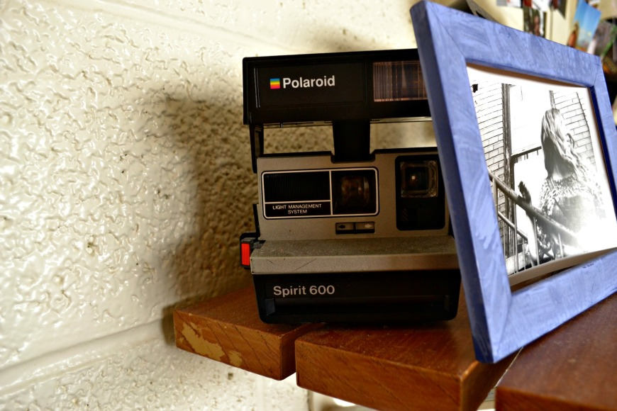 I may also be obsessed with old cameras. This is my favorite Polaroid...if only the paper wasn't so pricey!