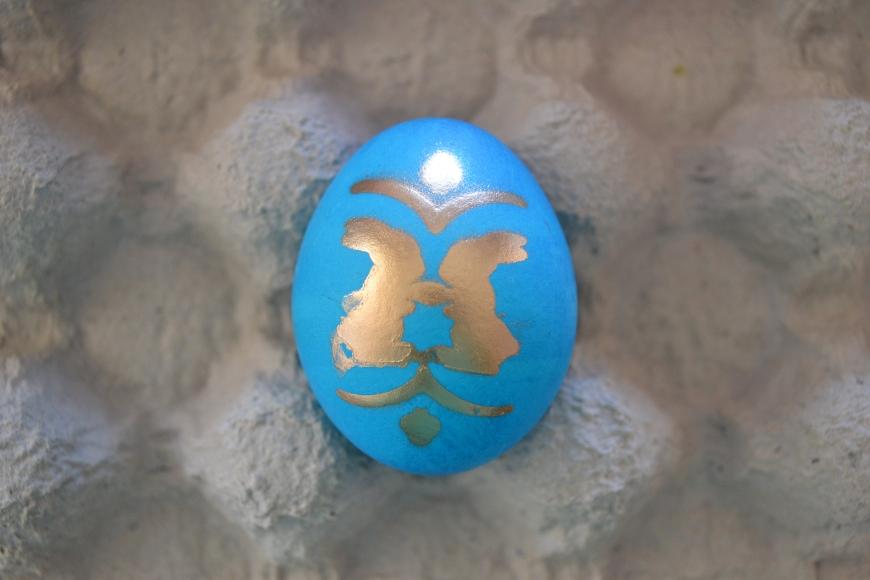classy easter eggs