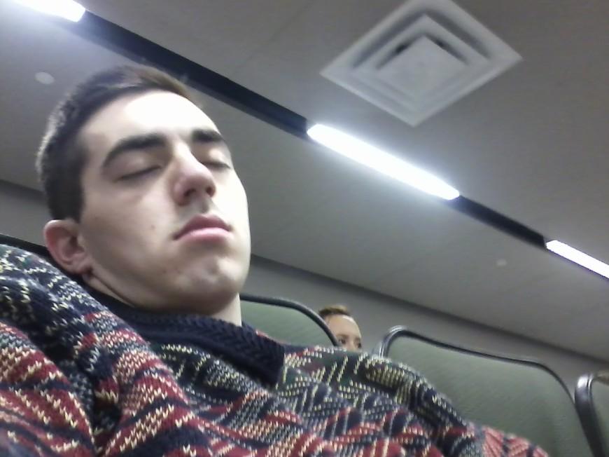 Stalker sleeping pictures