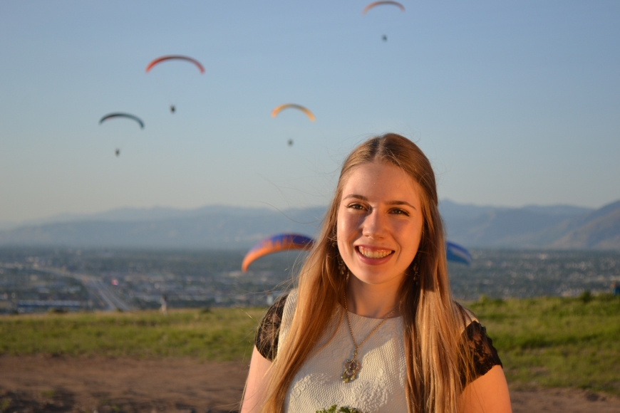 hang gliding park draper