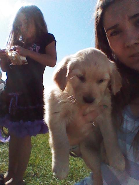 My precious puppy Ember Nilla