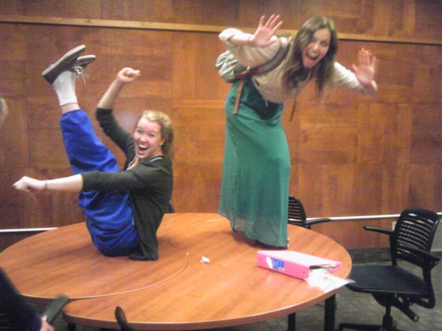 Library dance party