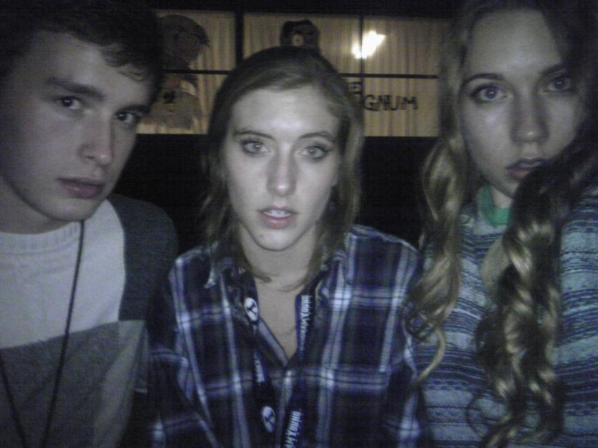 One day Jen got kidnapped and we waited all night for her.