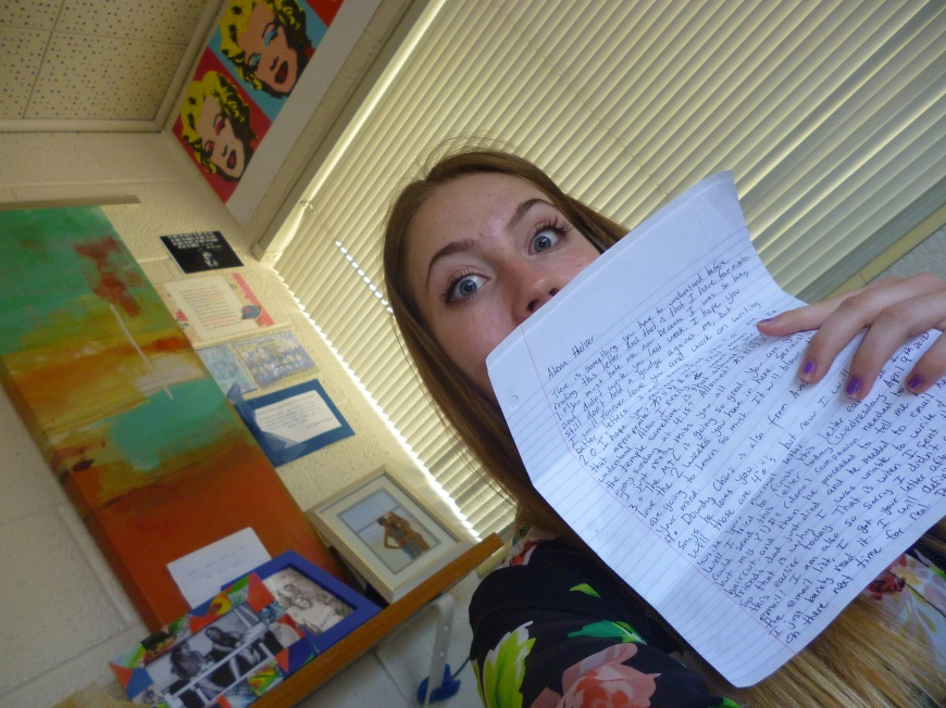 writing a missionary