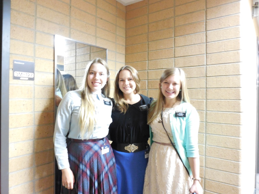 Sister Missionary MTC diaries