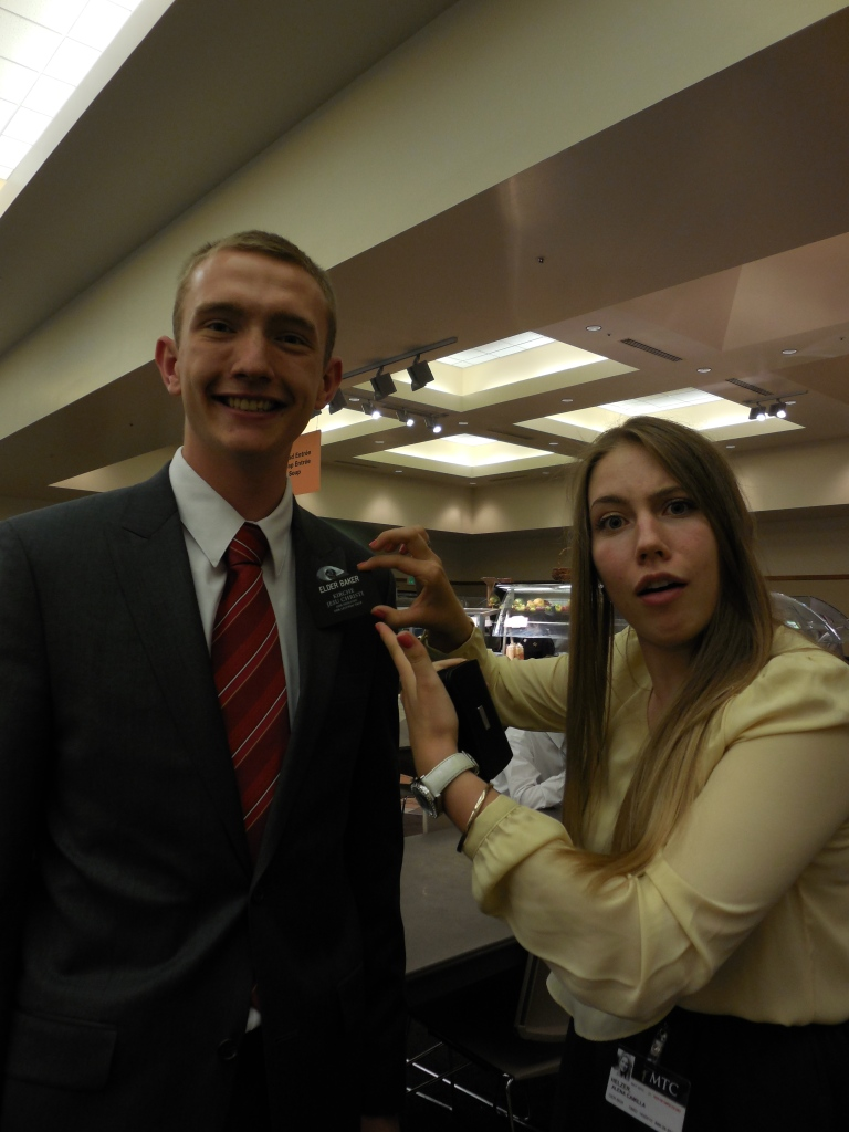 cute sister missionary