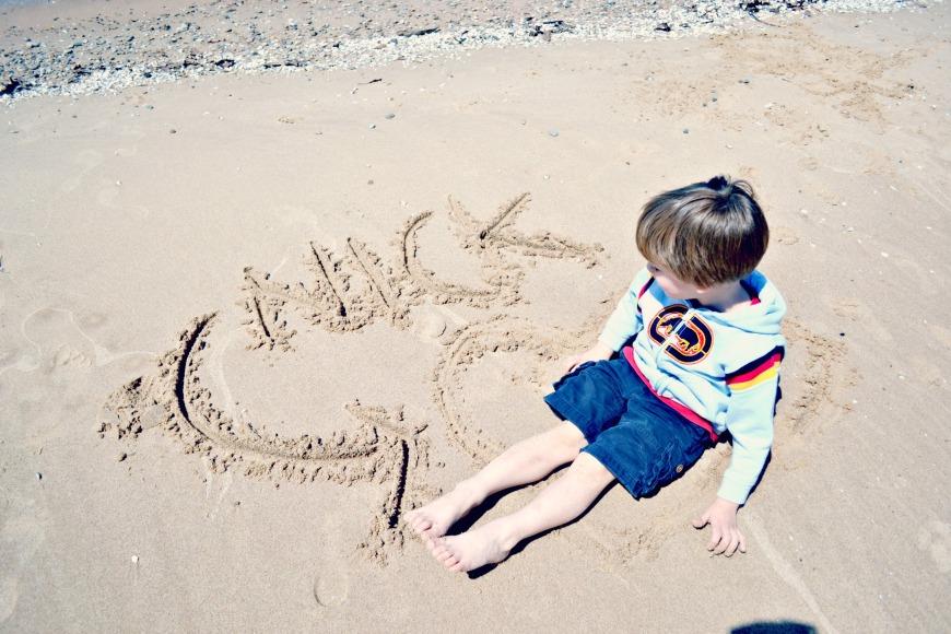Michigan Day One Beach 041