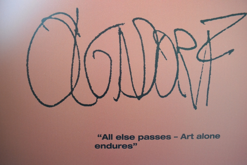 all else passes, art alone endures