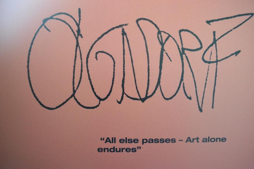 all else passes, art alone endures
