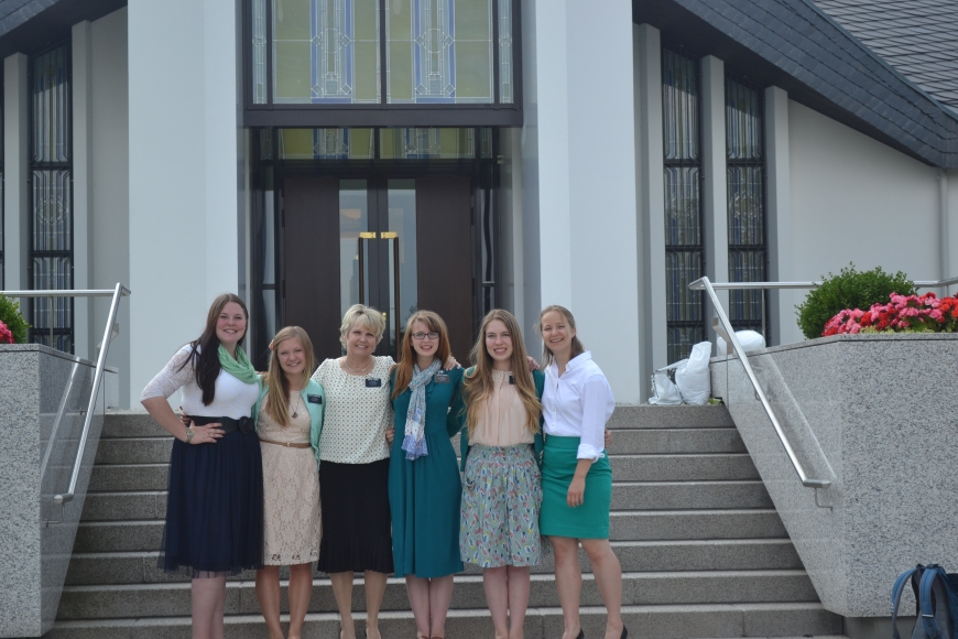 the sisters and brooke! she is an amazing member!