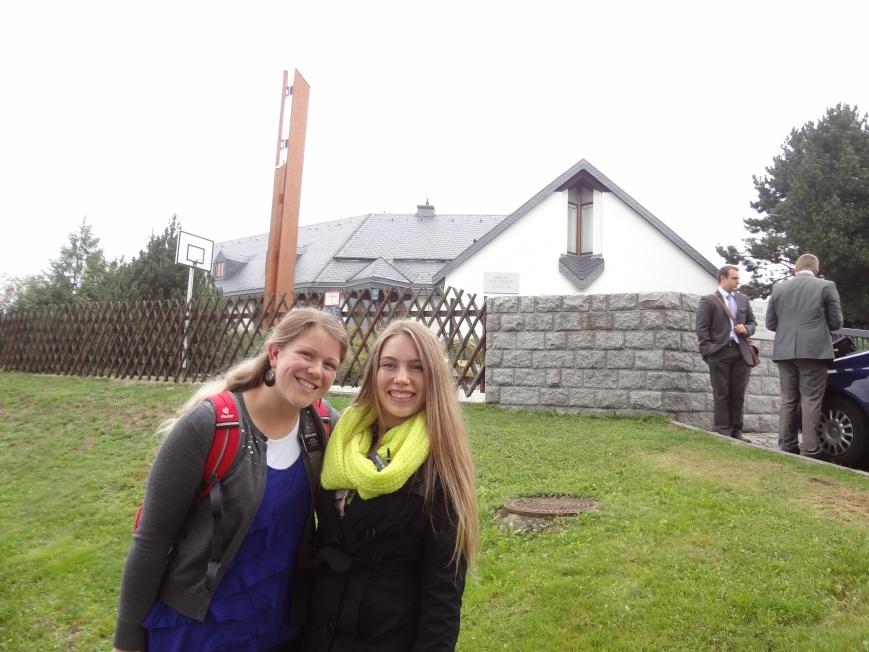 Meet Sister Hansen! And the Schwarzenberg church!