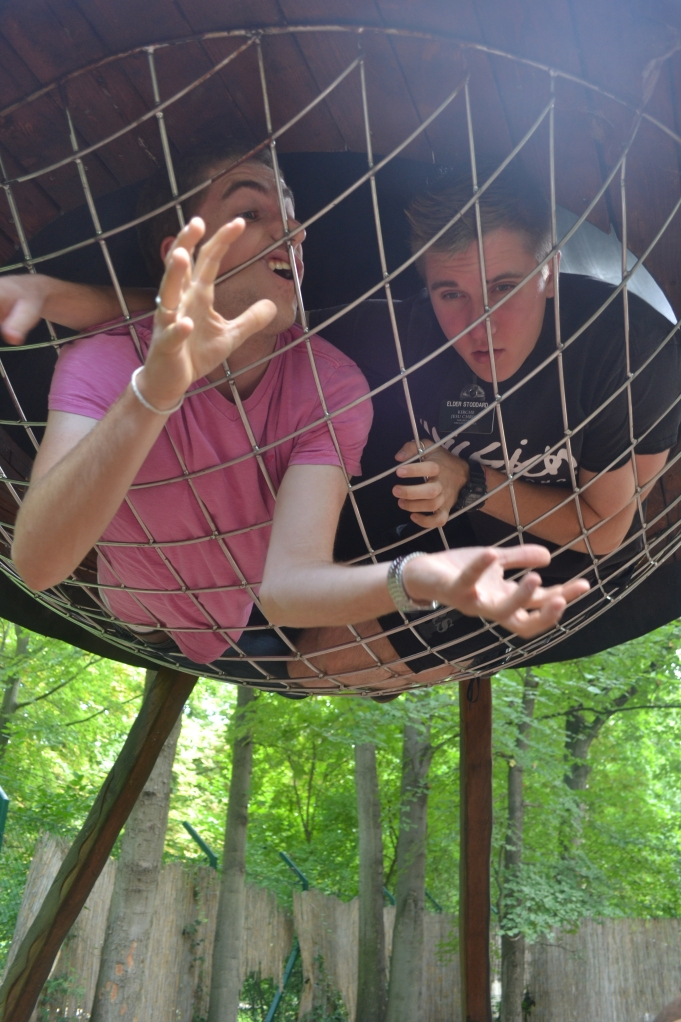 german playgrounds are weird and scary and you get trapped.