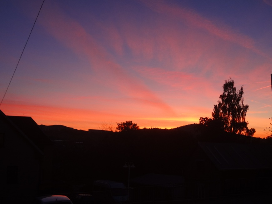 I get spoiled with sunrises like this