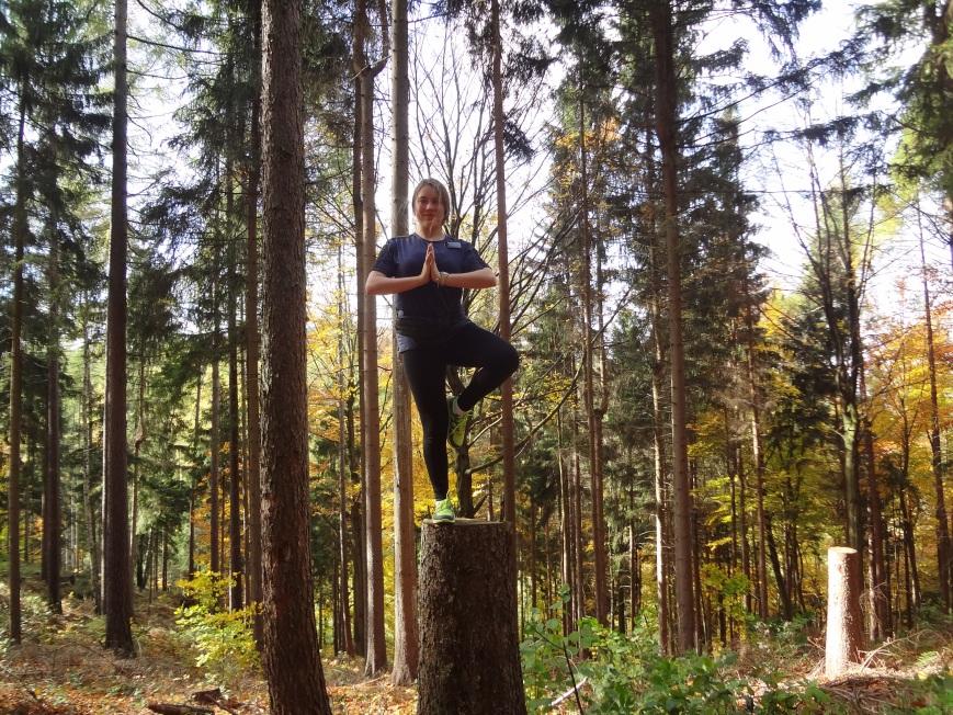 Tree yoga!