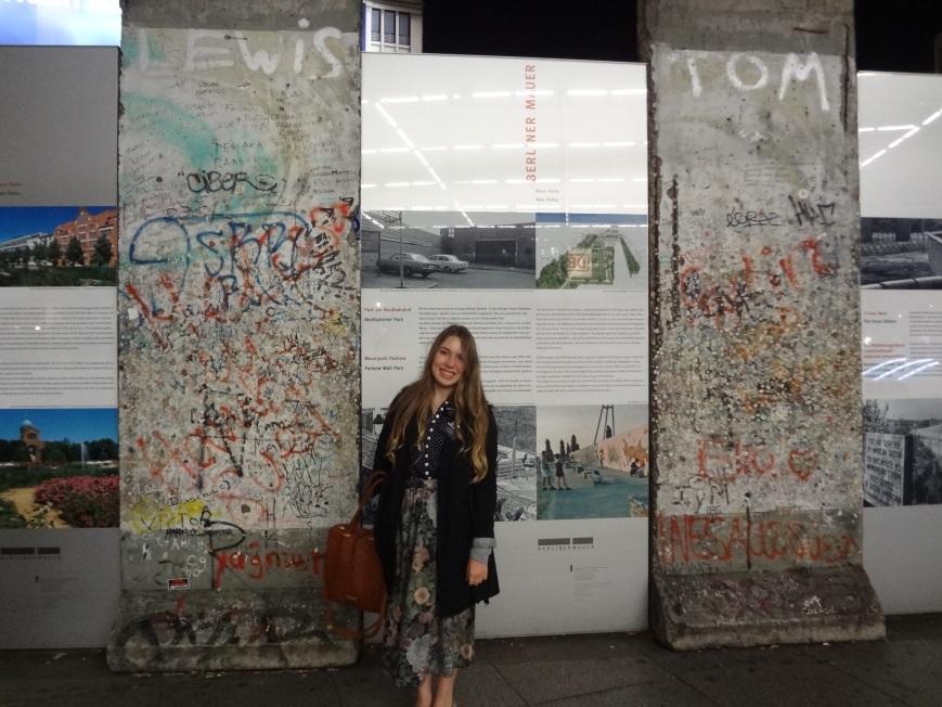 berlin wall and berlin pizza.