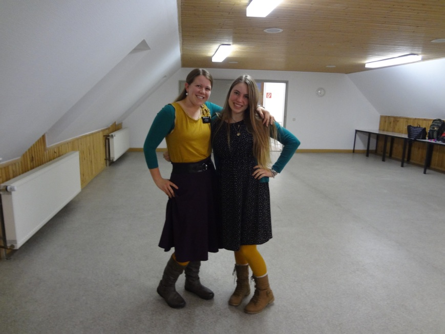 sister hansen and i were twins! but you can't see her yellow tights sadly.
