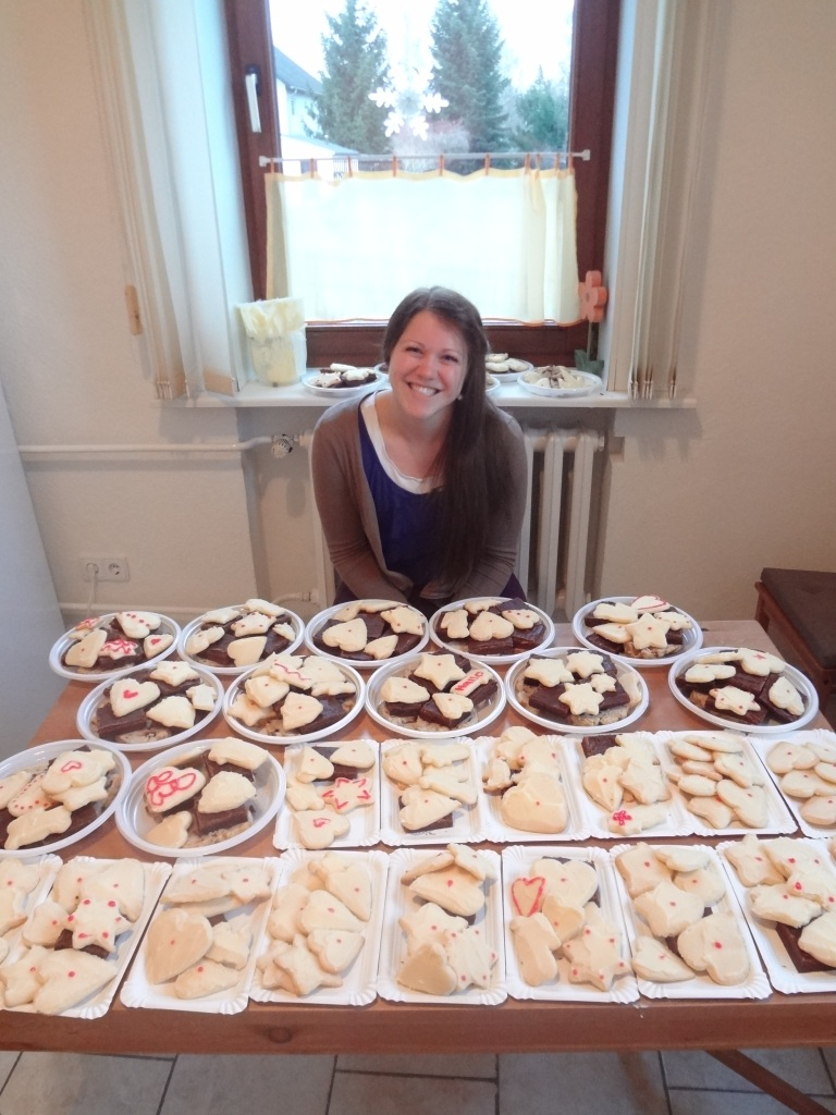 We made 40 plates of cookies.