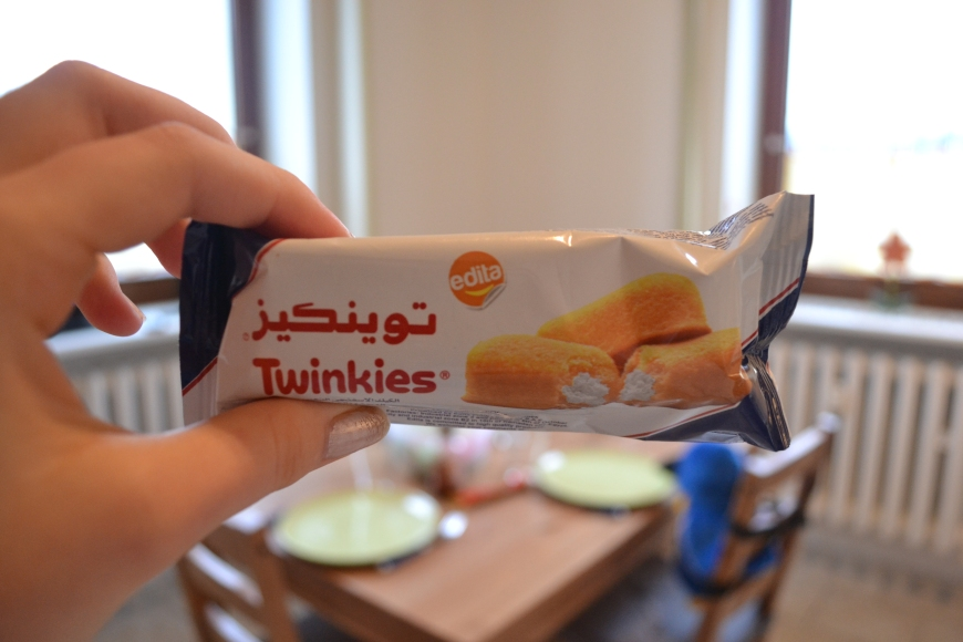 which is then followed by an Egyptian twinkie?!