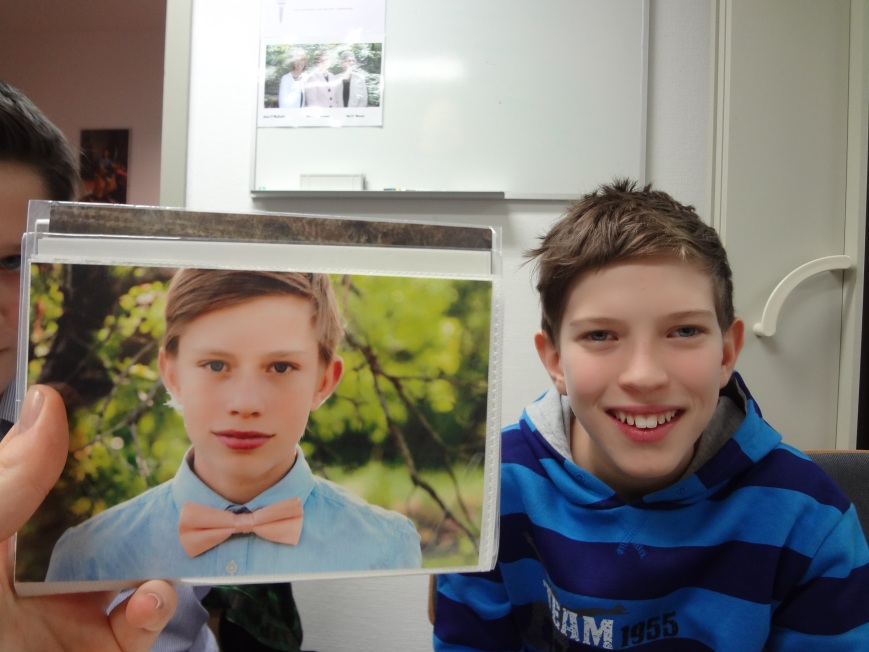 My brother compared to a kid in the ward. TWINS i tell ya, TWINS!
