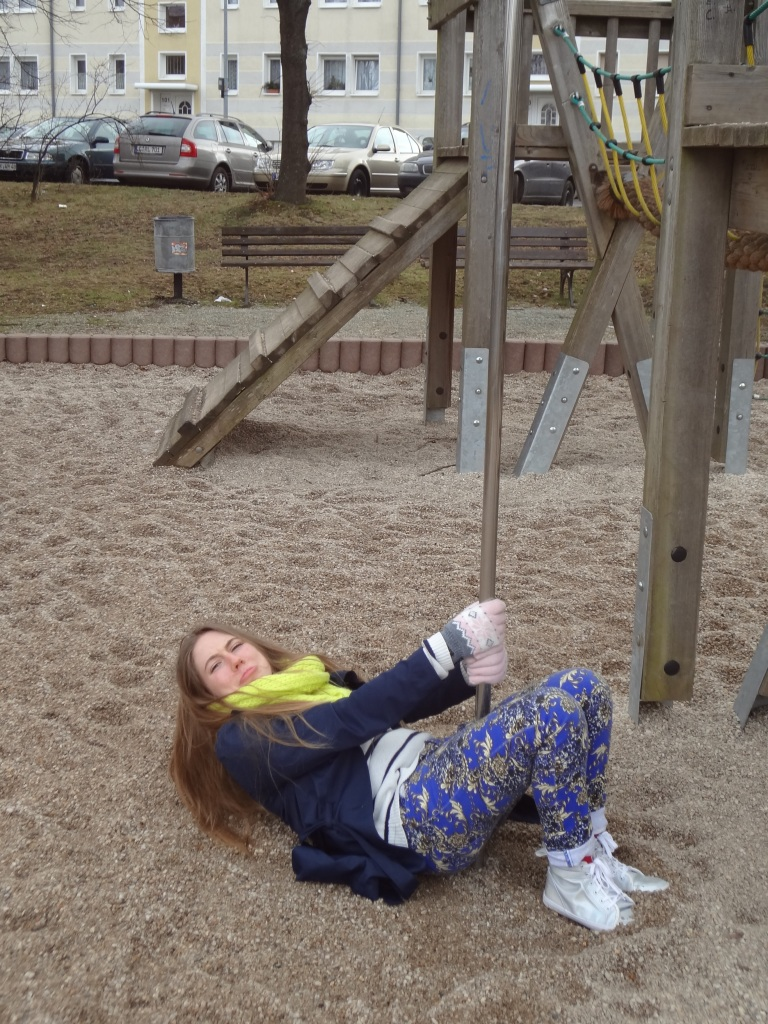 This is why you shouldn't overfeed missionaries! Look, now I can't even properly work a playground.