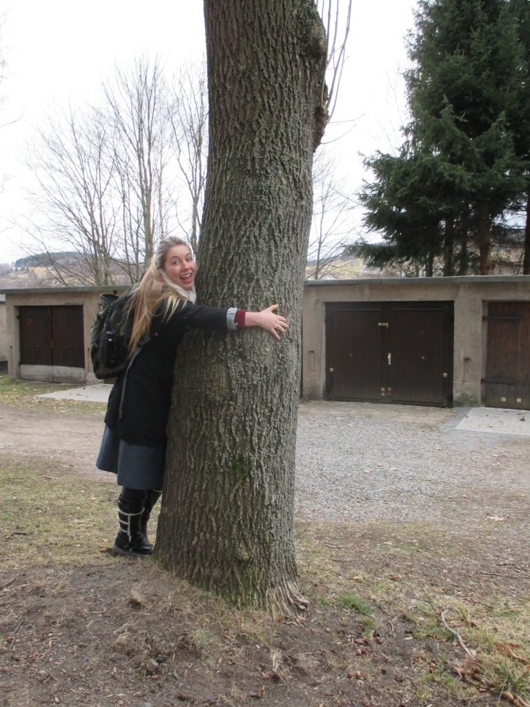 TREE HUGGER! sometimes you just miss hugging people as a missionary, so we hug trees.