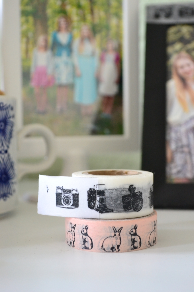 Sister A found the cutest store called Zweite Liebe (2nd Love) and I bought the most adorable tape there. I felt like a little japanese school girl in that store!