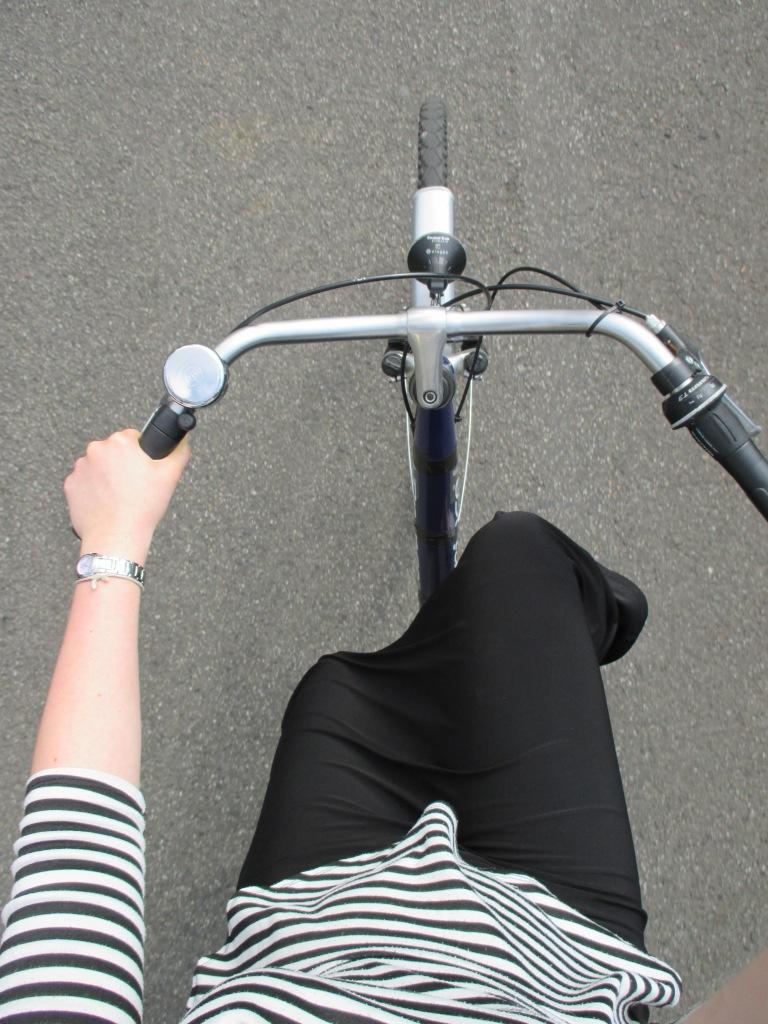 Biking in skirts, it's an art.