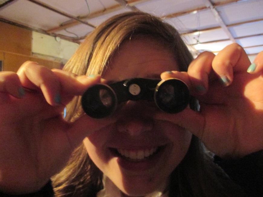 Opera glasses! #soclassyclubcanthandlemerightnow