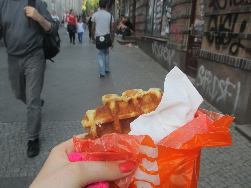 liege waffles! Hannah Woolley this ones for you! :)