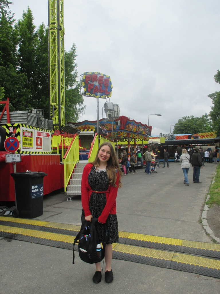 celebrated it by taking a stroll through a carnival, my REAL home.