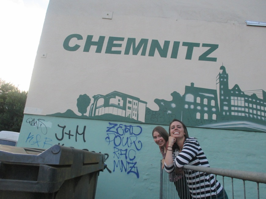 Chemnitz! formally known as Karl Marx City. Y'all know who Karl Marx is right?