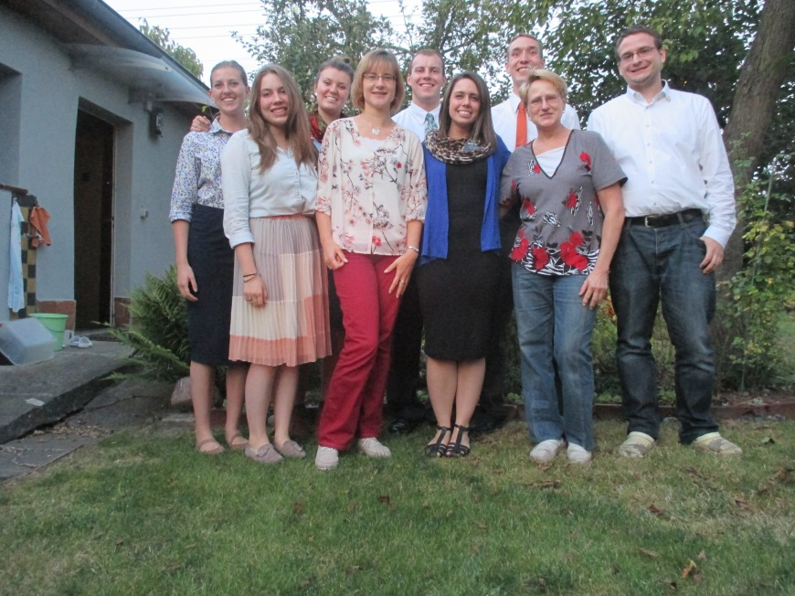 a goodbye party for Sister Miller